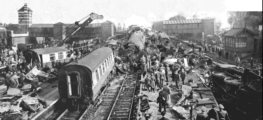 One Of The World S Worst Rail Crashes In Harrow Londonist