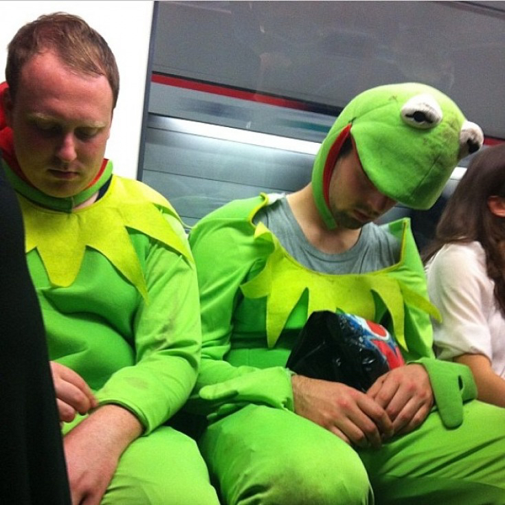 In Pictures: Fancy Dress On The Tube