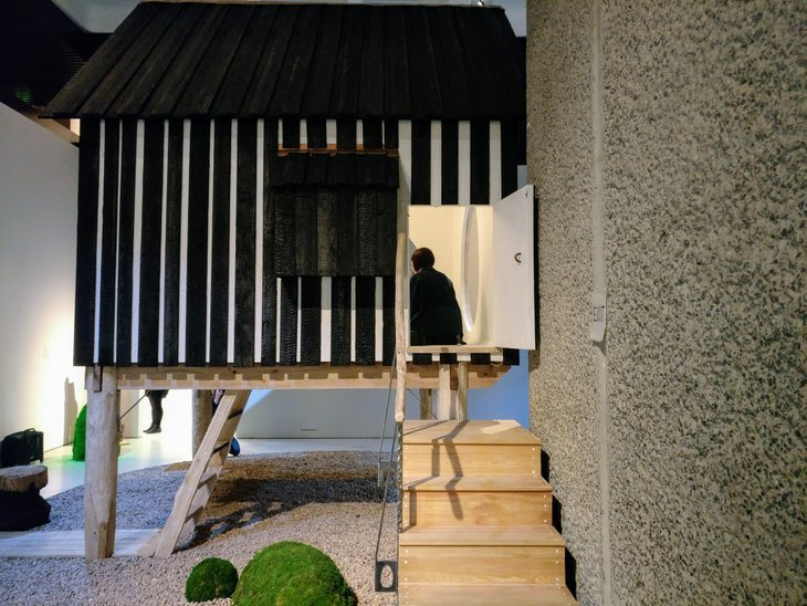 Walk Around A Japanese House Inside The Barbican Londonist