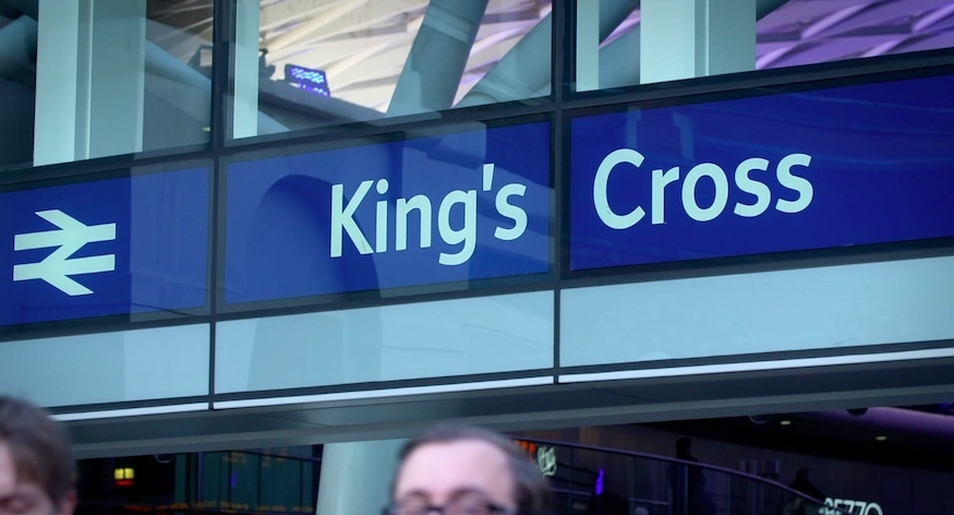 TV Show Goes Behind The Scenes Of London's King's Cross Station