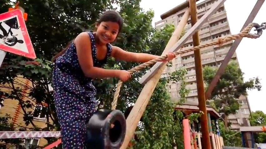 The adventure playground teaching inner city kids how to play