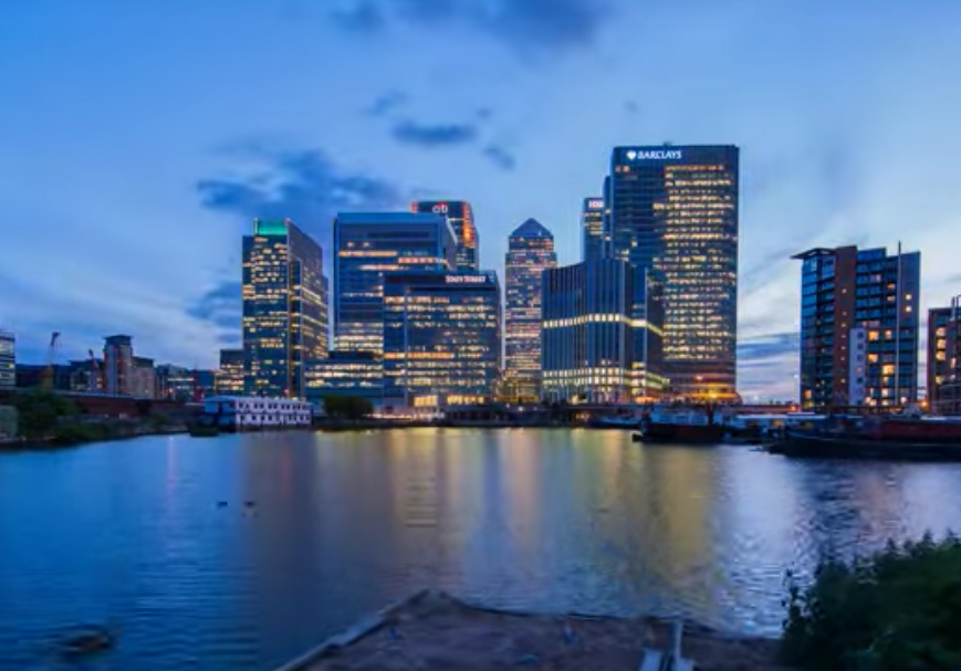 Gorgeous Timelapse Of Canary Wharf