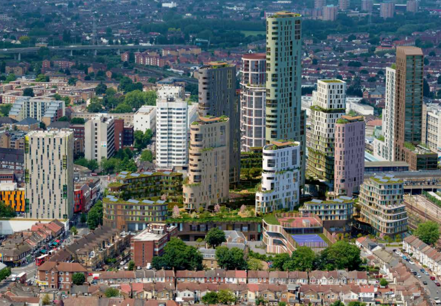 London's Skyline Growing Fast, Shows Report