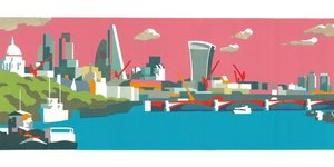 How Much Of The City Do You Recognise In These London Artworks?