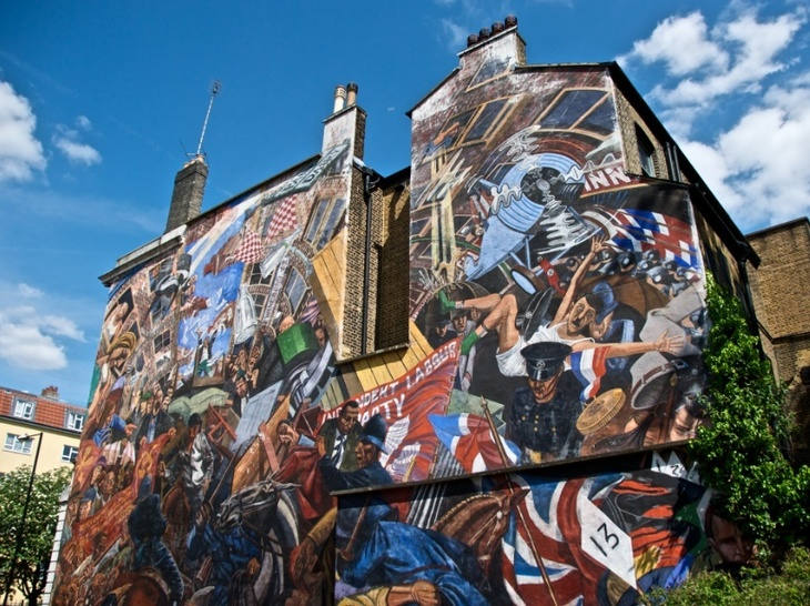 10 masterpieces of london you can see in london londonist for Cable street mural