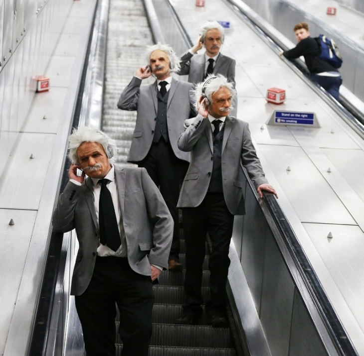 A Load Of Einsteins Take The Tube