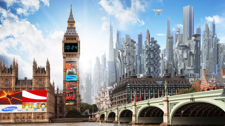 What will London look like in 100 years' time? This?