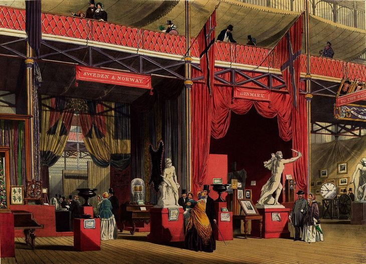 A Glimpse Inside The 1851 Great Exhibition