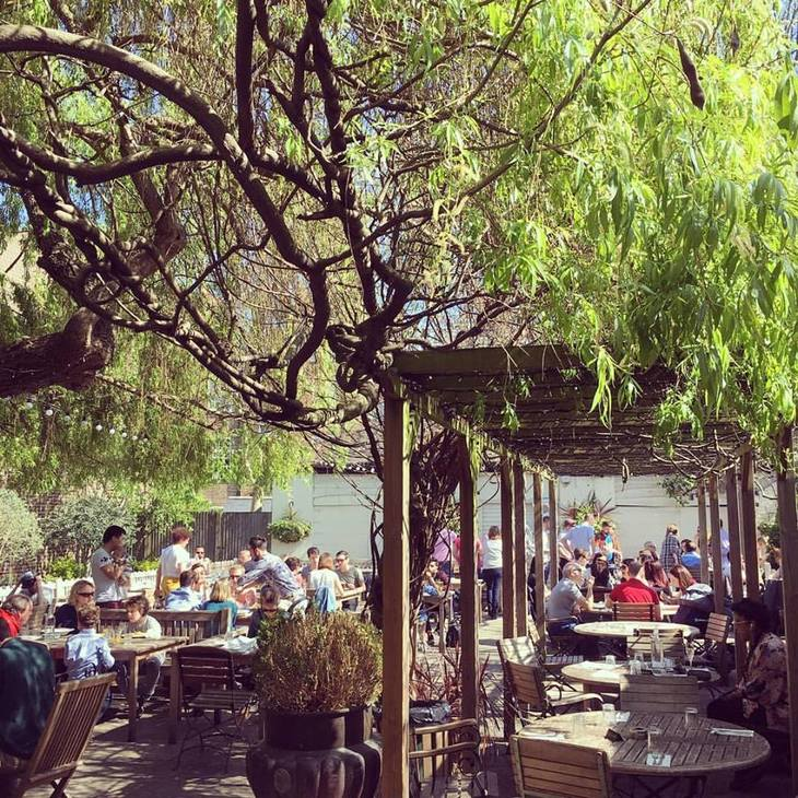 Londons Best Beer Gardens Mapped
