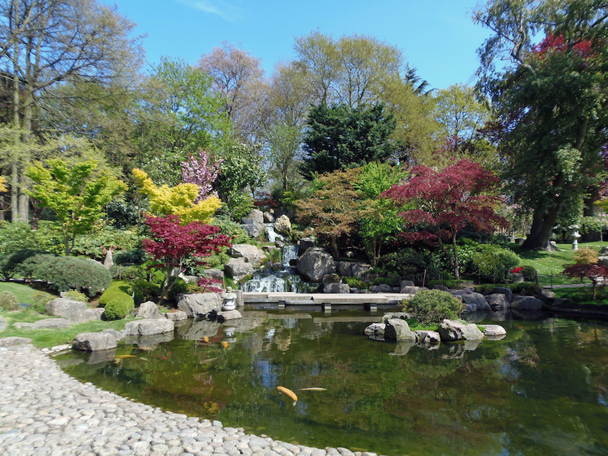How Holland Park ended up with two Japanese gardens