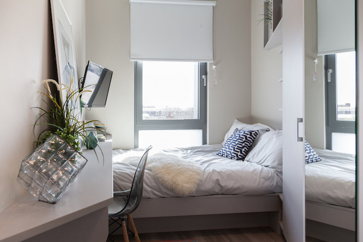 Could you share a flat with 500 other people? These Londoners do