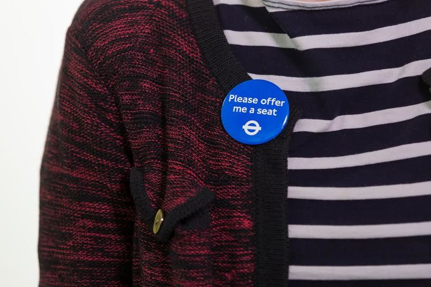 TfL Has Officially Launched The 'Please Offer Me A Seat' Badge