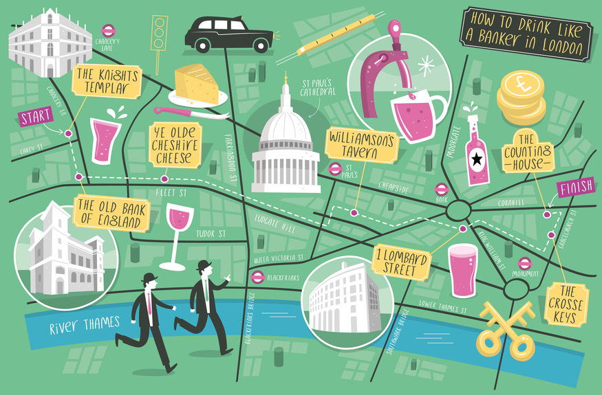 Drink Your Way Through The City Of London Like A Banker