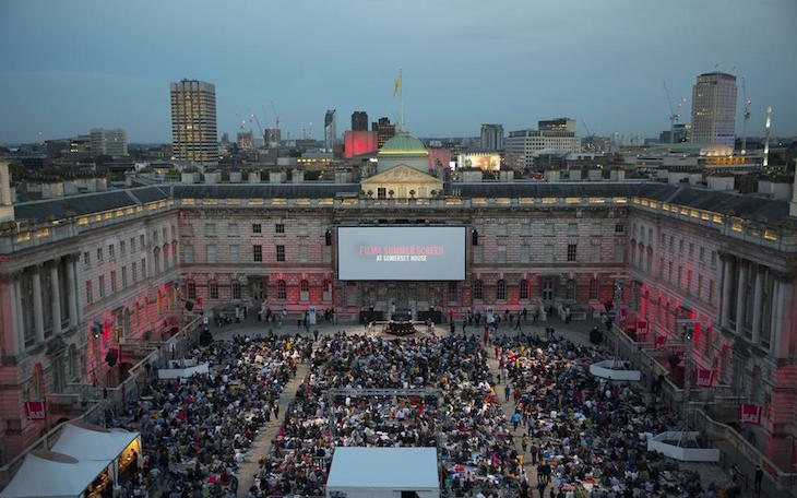 Where To Watch Films Outdoors In London This Summer