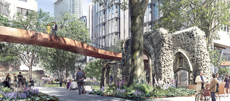 Ever explored the City's raised walkways? The network is expanding...