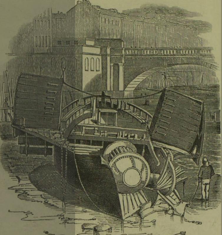 Forgotten Disasters: Steamboat Explosion Near Waterloo Bridge