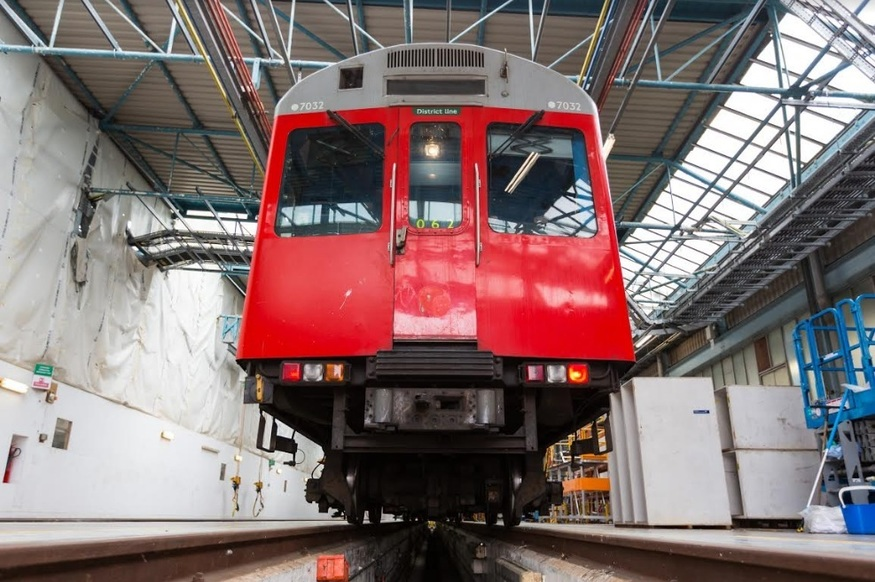 Where Have The D Stock Tube Trains Gone?