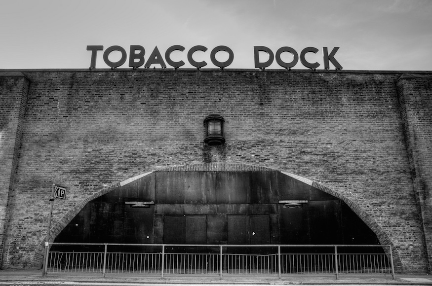 Things You Maybe Didn't Know About Tobacco Dock