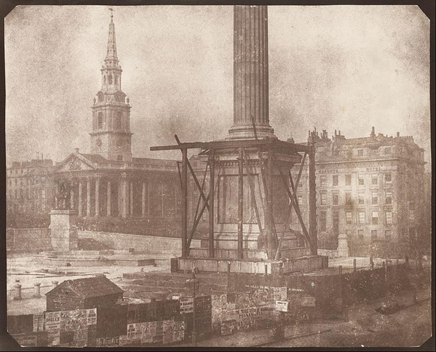 Did You Know There Are Five Nelsons On Nelson's Column?