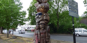 Why Is There A Totem Pole On Peckham Rye?