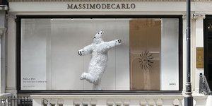 See A Polar Bear Dancing In A Shop Window