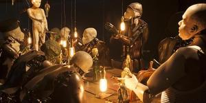 A Dark, Robotic Last Supper At Science Museum