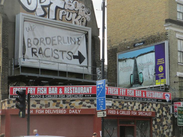 Jeremy Corbyn Easily Beats May: In Street Art