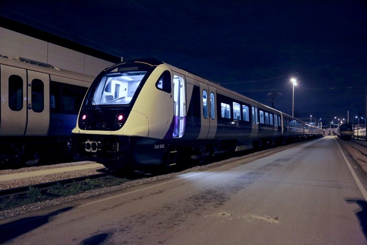 Brand New Crossrail Trains Are Almost Here
