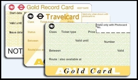 A Gold Card. Three, in fact