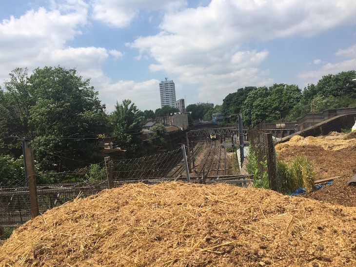 The City Farm That Straddles A Train Line
