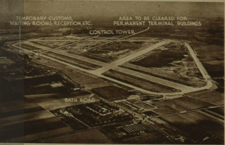 How Heathrow Airport almost had nine runways