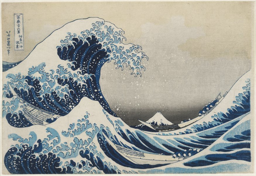 Hokusai Makes A Big Splash In This Blockbuster Exhibition