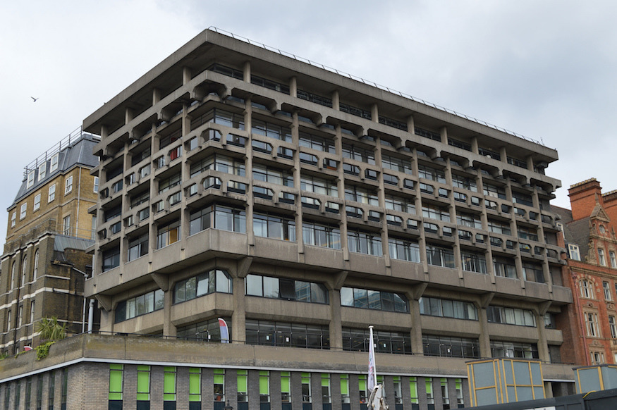 The ugliest buildings in central London
