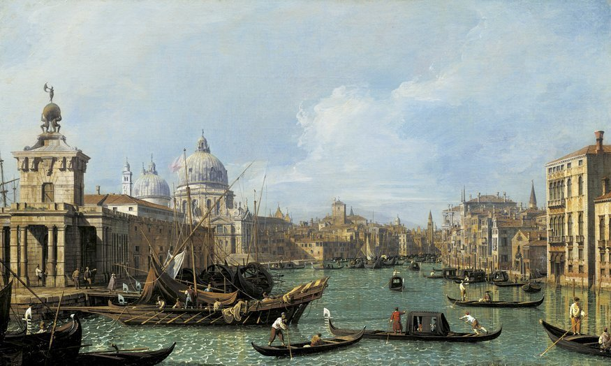 Canaletto's Magnificent Canals And Cityscapes Come To London