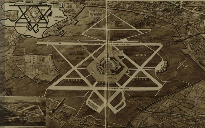 How Heathrow Airport almost had nine runways
