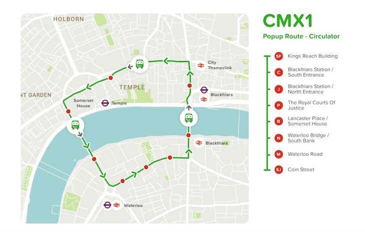 Citymapper Is Running Buses In London