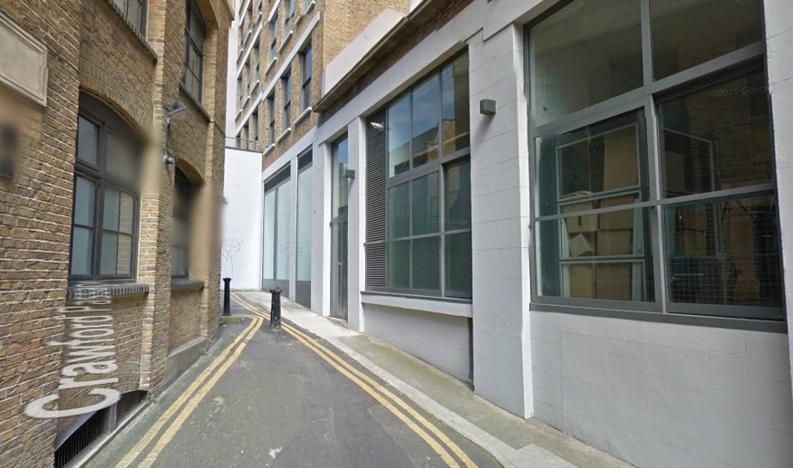 This Is The Narrowest Street In London