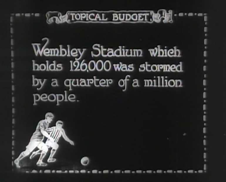 The Day Wembley Was Flooded With Quarter Of A Million Football Fans
