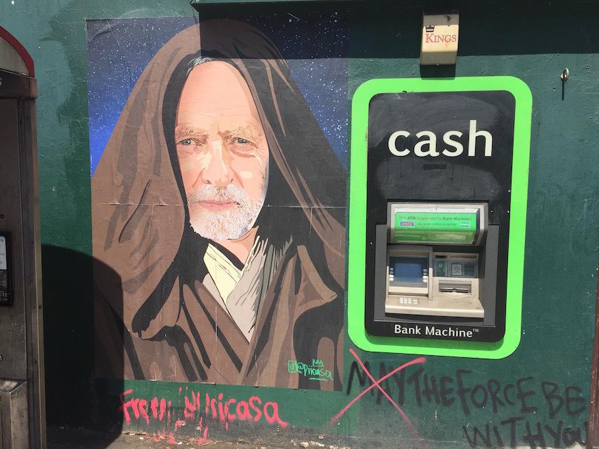 Jeremy Corbyn Appears As Obi-Wan Kenobi