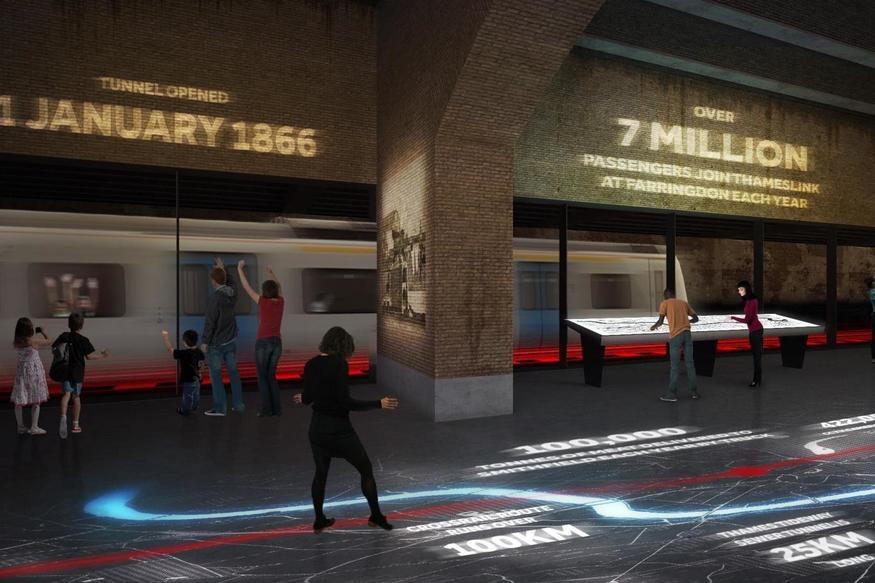 Museum Of London To Get Thameslink Viewing Platform?