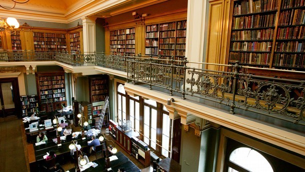 National Art Library at the Victoria and Albert Museum.