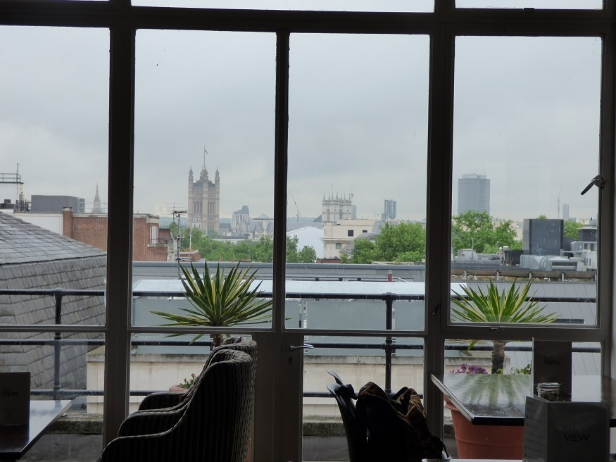 This Cafe Offers Unusual Views Of The London Skyline