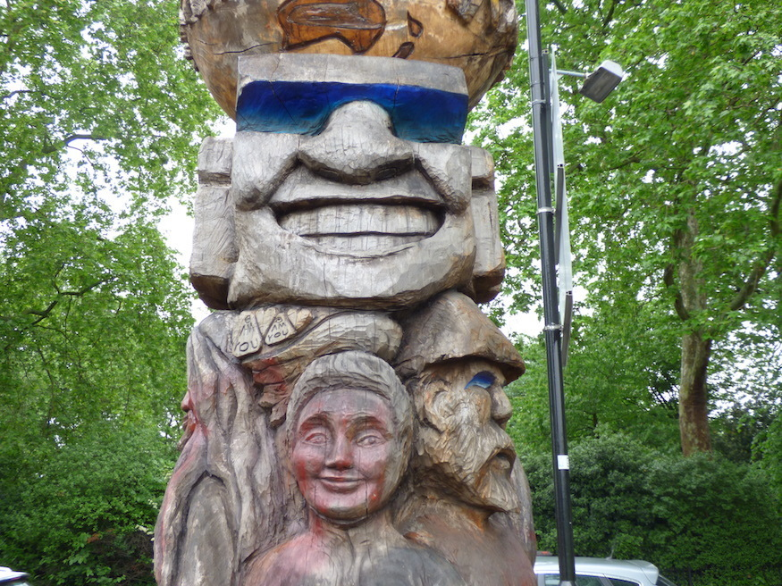 Ever seen the totem pole on Peckham Common?