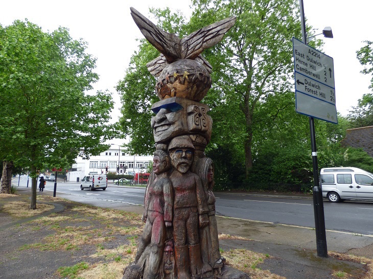 The Story Of Peckham's Totem Pole