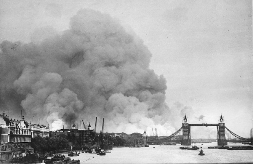 1941 Photos Offer An Insight Into Wartime London