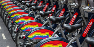 London's Transport Gets A Rainbow Makeover For Pride