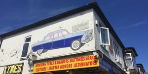 """My Grandad Painted This East London Car Art 60 Years Ago"""