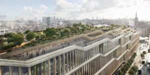 Google Unveils Plans For King's Cross Groundscraper HQ