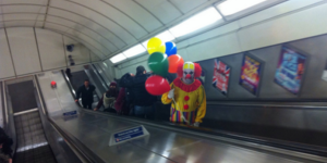In Pictures: Horror Fancy Dress On The Tube