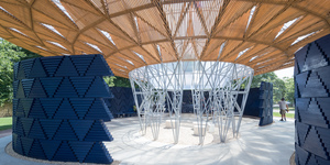 The New Serpentine Pavilion Is Here And It's Part Waterfall